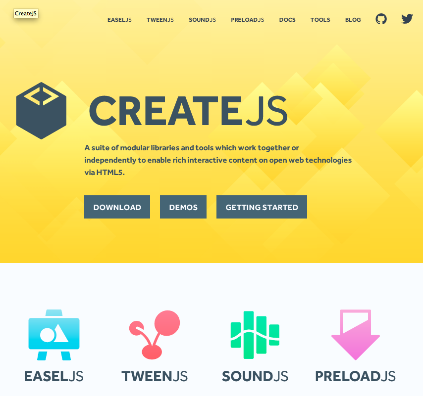 CreateJS.com Version 2.0